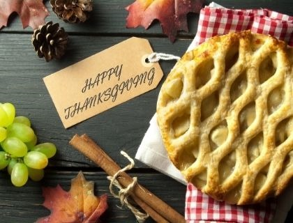 Don't Miss Your Chance to Reserve Your Free Thanksgiving Pie