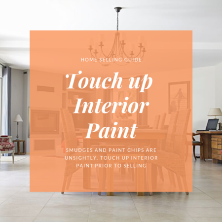 Home Seller Tip: Touch Up Interior Paint