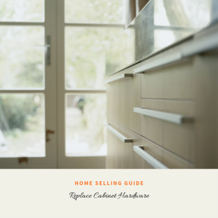 HOME SELLER TIP: Replace Cabinet Hardware