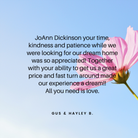 JoAnn Dickinson, Broker Reviews