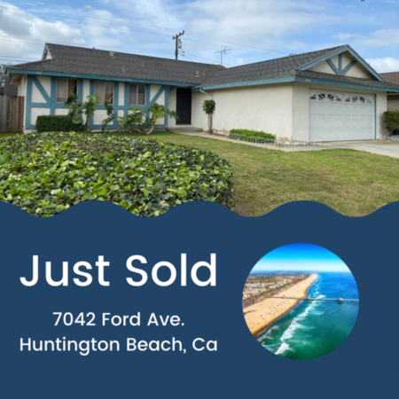 Just Sold! 7042 Ford Ave. Huntington Beach