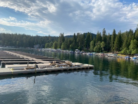 Beautiful Lake Arrowhead Morning