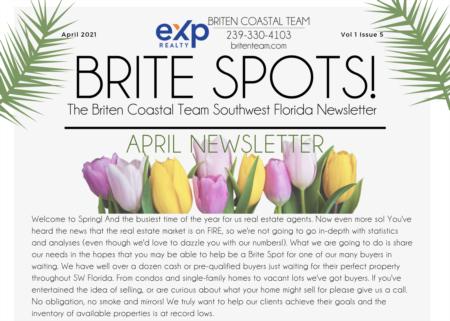 Brite Spots! Newsletter April 2021