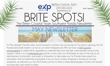 Brite Spots! Newsletter May 2021