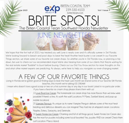 Brite Spots! Newsletter June 2021