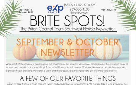 Briten Spots! September & October 2021 Newsletter