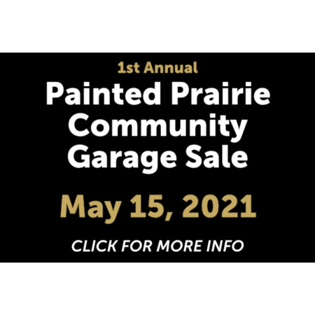 First Annual Painted Prairie Community Garage Sale