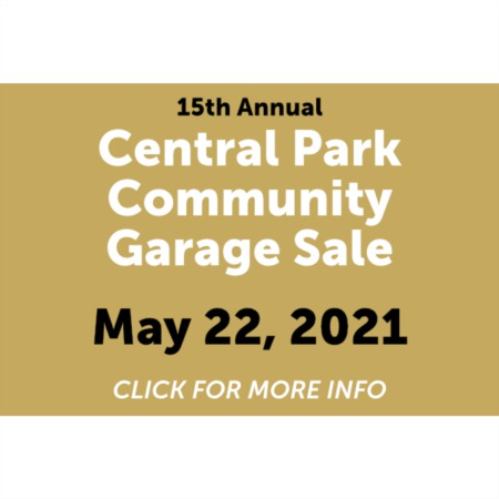 16th Annual Central Park Community Garage Sale