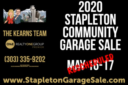 2020 Stapleton Community Garage Sale Update [VIDEO]