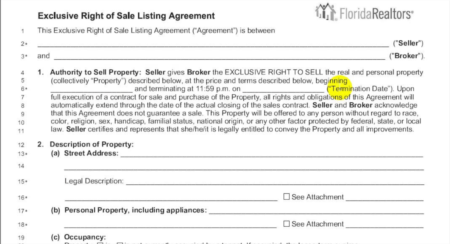 Listing Agreements Explained