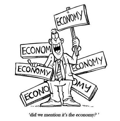 It's the Economy . . . Stupid.