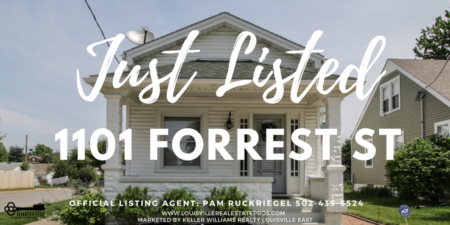 Official Listing Agent Presents: 1101 Forrest St. Louisville, KY 40217