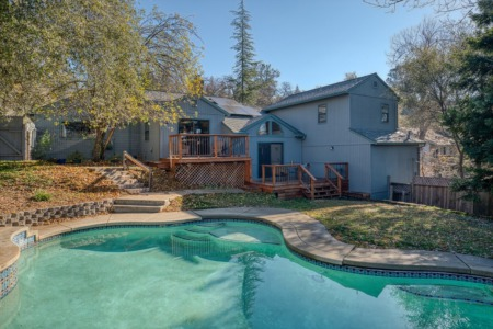 Cameron Park Home With a Pool!
