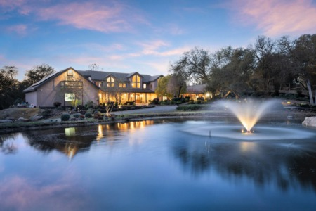 Granite Bay Estate on 3.5 Acres, Pool, Gym and Basketball Court!