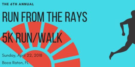 6th Annual Run From The Rays 5K Run Walk