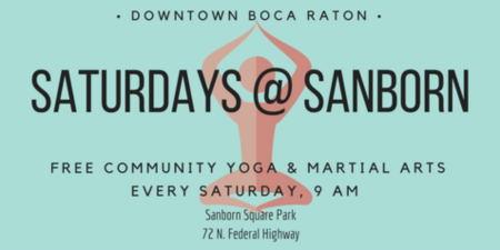 Saturdays @ Sanborn: Free Community Fitness