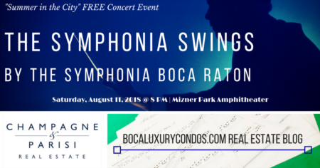 Free Concert: The Symphonia Swings | Mizner Park Amphitheater