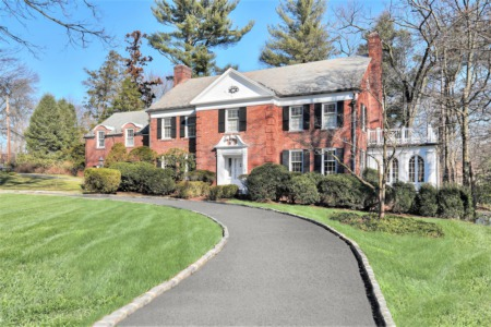 Classic Colonial: 110 Highland Avenue, Short Hills