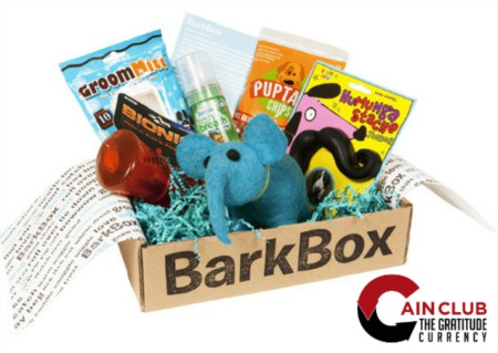 BarkBox in Now Available at Cain Club!