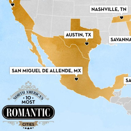 Austin on List of North America's 10 Most Romantic Cities