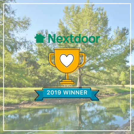 Nextdoor Neighborhood Winner! Thank you!