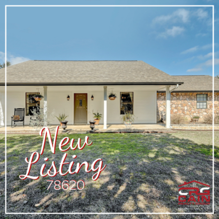 Charming Farmhouse Style Home in Dripping Springs Just Listed!