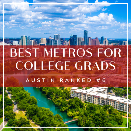 Best Metros for College Graduates: Austin Ranks #6