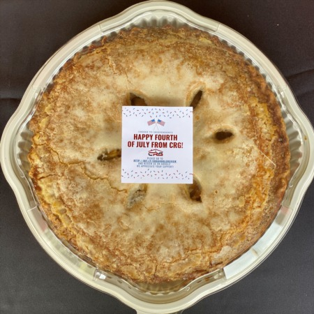 Thank You For Attending Our 9th Annual 4th Of July Pie Giveaway!