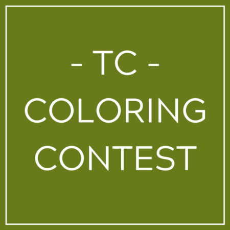 MARCH COLORING CONTEST