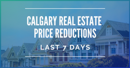 Calgary Real Estate Price Reductions