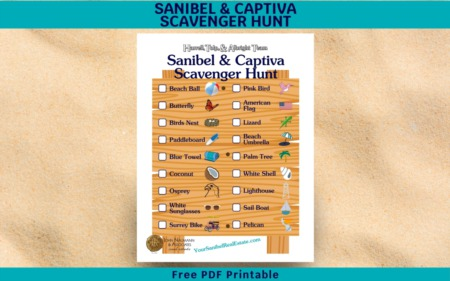 Sanibel & Captiva Scavenger Hunt - Free Download