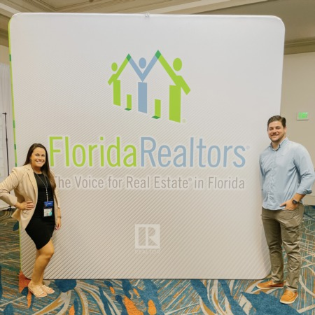 Kasey & Brendan Albright Attend Florida's Largest Real Estate Event of the Year