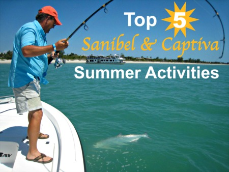 Top 5 Sanibel & Captiva Summer Activities