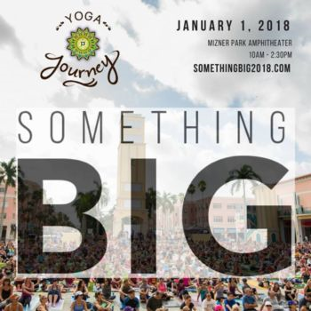 Something Big 2018: New Year's Day Community Yoga Event