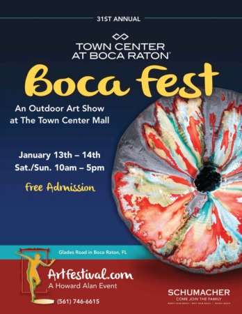 31st Annual Boca Fest Outdoor Art Festival