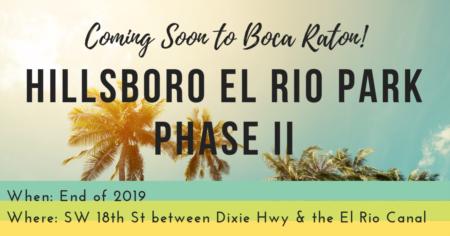 New Hillsboro El Rio Park Phase II