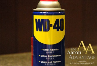 WD 40 Isn't Just For Squeaks