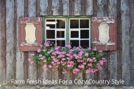 Farm Fresh Ideas For a Cozy Country Style