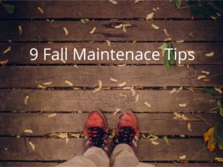 9 Fall Maintenance Tips
