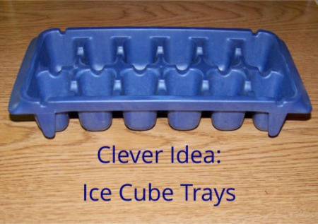 Clever Uses for Ice Cube Trays