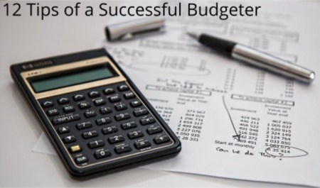 12 Tips of a Successful Budgeter