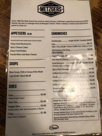 Realtor Review: Metzgers Tavern