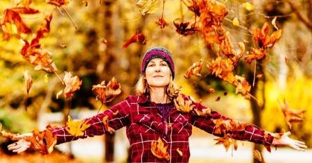 Outdoors in October