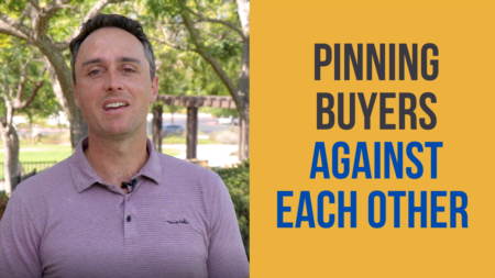 The Art of Handling Multiple Offers: Choosing the buyer who will perform