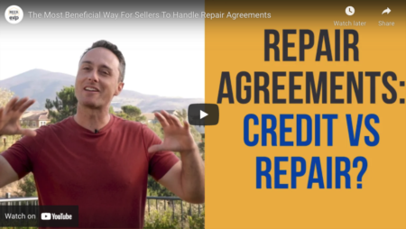 The Most Beneficial Way For Sellers To Handle Repair Agreements