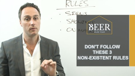 Don't Follow These 3 Non-Existent Rules That Most Agents Follow