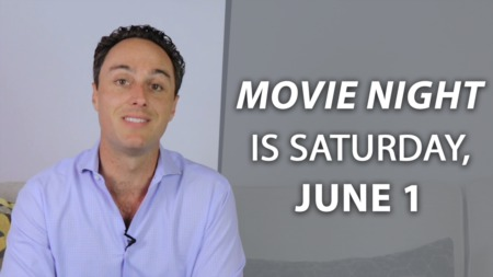 Join us for Movie Night on June 1