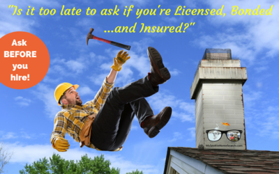 Why hiring a licensed, bonded and insured contractor is important.