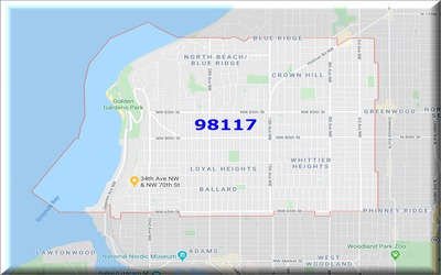 What are Ballard WA zip codes?