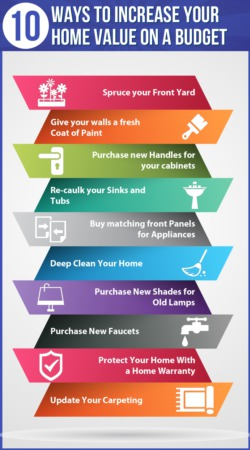 10 Ways To Increase Your Home On A Budget